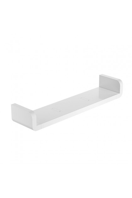 BEULIFE U-Shape Wall Shelf Rack Organizer & Storage Suitable for Bathroom & Kitchen Easy DIY Installation No Drilling No Nail Hammering
